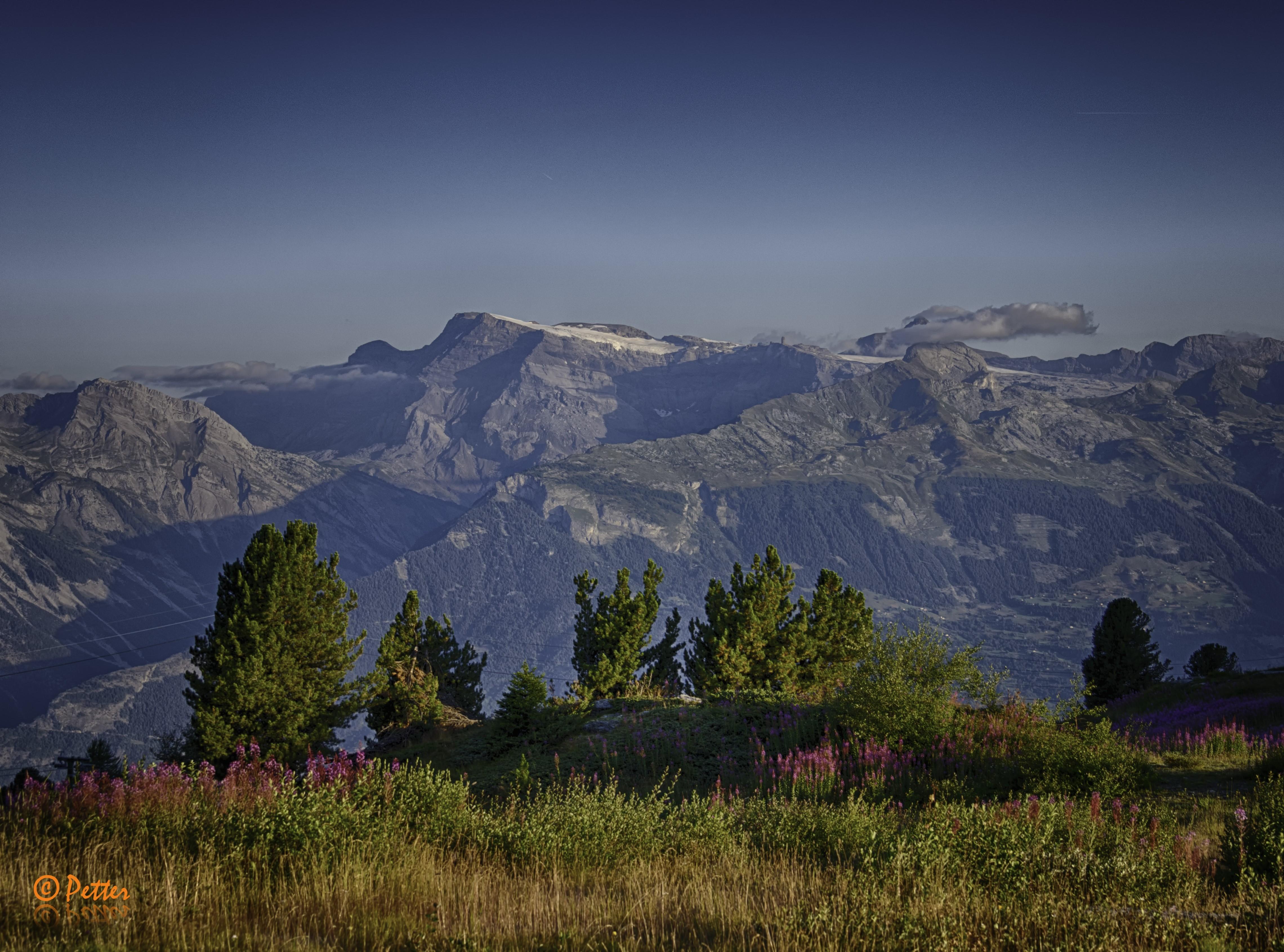 Thyon - Region landscapes by www.swissaerial.ch