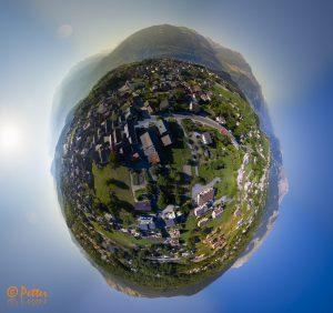 Saviese - My Little Planet by www.swissaerial.ch